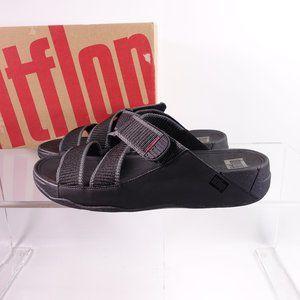 NEW Fitflop Sling II Slide Sandals in Webbing